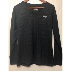 Under Armour Women's Black Long Sleeve Shirt